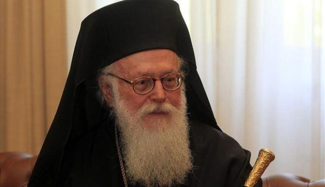 Ο Αρχιεπίσκοπος Τιράνων Αναστάσιος