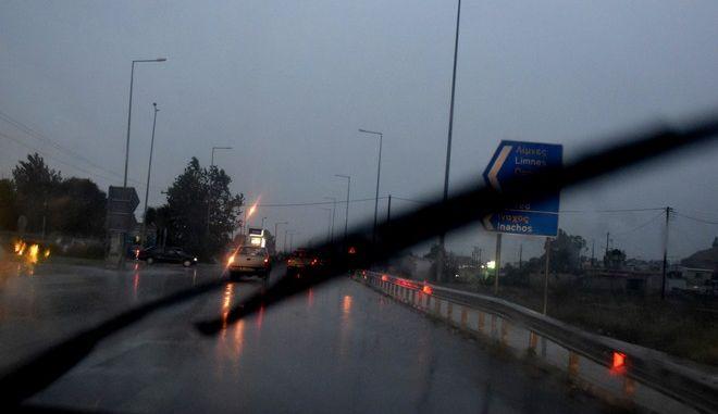 Βροχόπτωση στο Άργος