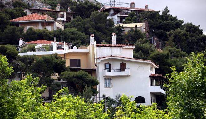 Κατοικιίες στη Πεντέλη (eurokinissi/ Παναγλοπουλος Γίαννης)