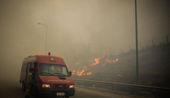 Πολύ υψηλός κίνδυνος πυρκαγιάς και το Σάββατο σε πολλές περιοχές της χώρας