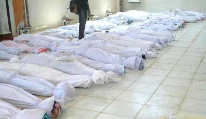Πάνω από 130.000 οι νεκροί στη Συρία από το 2011