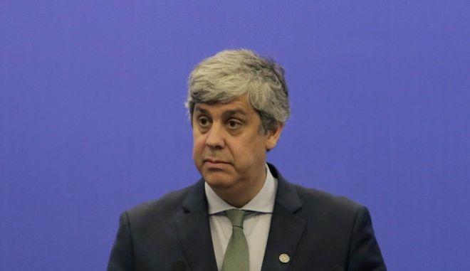 Ο επικεφαλής του Eurogroup Μάριο Σεντένο