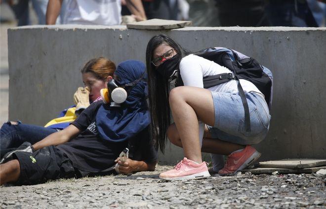Αντικυβερνητικοί διαδηλωτές