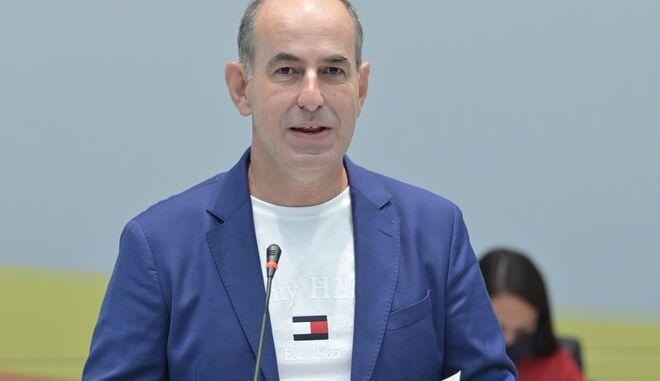 Ο Σταύρος Μηλιώνης, Πρόεδρος του ΚΕΑΝ.