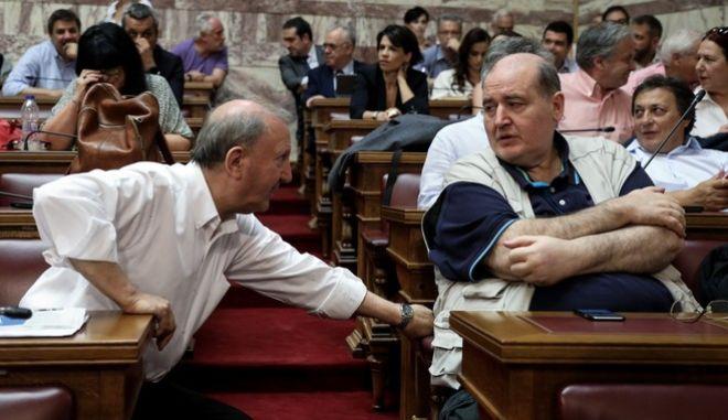 Φωτό αρχείου: Συνεδρίαση της Κοινοβουλευτικής Ομάδας του ΣΥΡΙΖΑ.