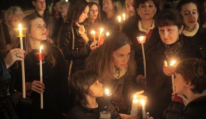 Η ΑΝΑΣΤΑΣΙΜΗ ΑΚΟΛΟΥΘΙΑ ΣΤΟΝ ΑΓΙΟ ΔΙΟΝΥΣΙΟ ΤΟΝ ΑΡΕΟΠΑΓΙΤΗ ΣΤΟ ΚΟΛΩΝΑΚΙ ΧΟΡΟΣΤΑΤΟΥΝΤΟΣ ΤΟΥ ΑΡΧΙΕΠΙΣΚΟΠΟΥ ΑΘΗΝΩΝ ΙΕΡΩΝΥΜΟΥ. ΣΑΒΒΑΤΟ 19 ΑΠΡΙΛΙΟΥ 2014.(EUROKINISSI / ΚΑΤΩΜΕΡΗΣ ΚΩΣΤΑΣ)
