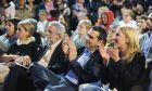 ΠΕΙΡΑΙΑΣ-Κεντρική εκδήλωση του ΣΥΡΙΖΑ στην πλ. Κοραή στον Πειραιά. ο πρόεδρος του ΣΥΡΙΖΑ, Αλέξης Τσίπρας, η υποψήφια περιφερειάρχης Αττικής Ρένα Δούρου και ο υποψήφιος για τον δήμο Πειραιά Θοδωρής Δρίτσας.(EUROKINISSI-ΑΝΤΩΝΗΣ ΝΙΚΟΛΟΠΟΥΛΟΣ)