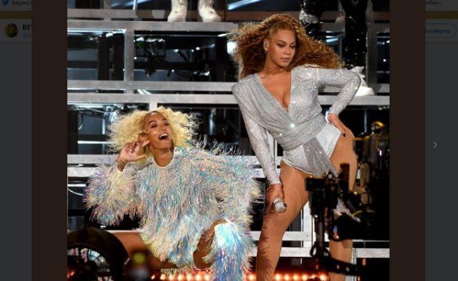 Επική τούμπα Beyonce και... σια (Solange) στη σκηνή του Coachella
