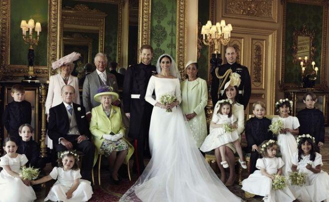 Αυτές είναι οι επίσημες φωτογραφίες από το γάμο Χάρι και Μέγκαν