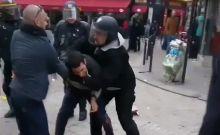 Έλληνας είναι ο διαδηλωτής που ξυλοκόπησε ο συνεργάτης του Μακρόν