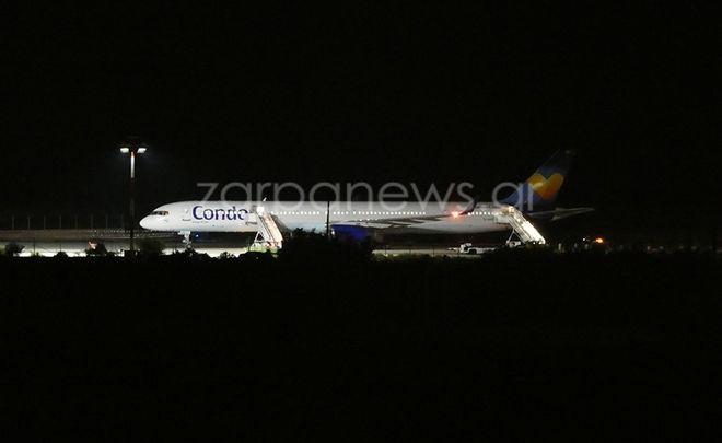 Φάρσα η απειλή για βόμβα στο αεροπλάνο που προσγειώθηκε στα Χανιά