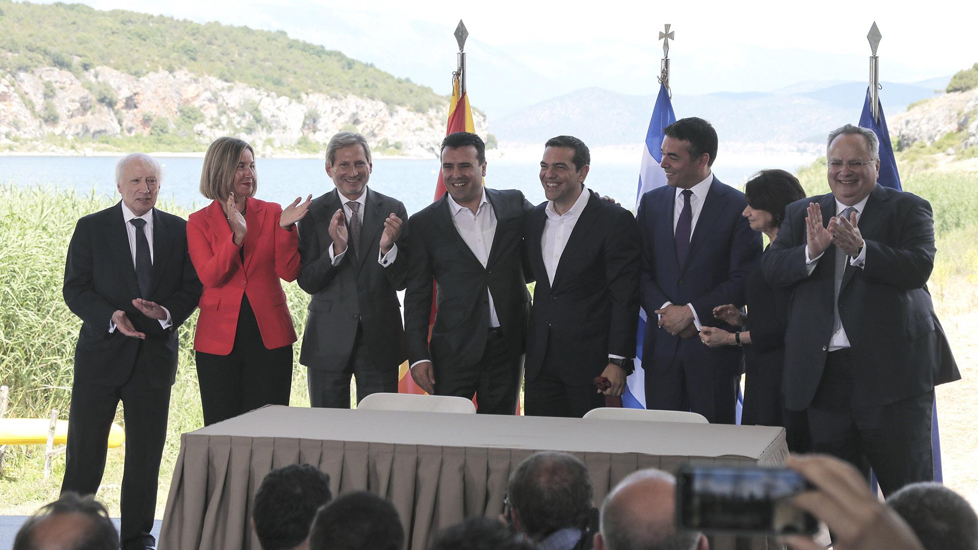 Η συμφωνία των Πρεσπών που αναδιατάσσει το πολιτικό σύστημα