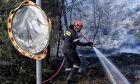 Μεγάλη φωτιά στην Αχαΐα: Εκκενώνονται οικισμοί - Κλειστή η Εθνική Οδός