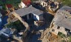 Σεισμός στην Κρήτη: Βίντεο drone καταγράφει το μέγεθος της καταστροφής